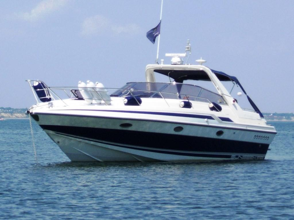 1991 Sunseeker Martinique 36 for sale in Poole by Clipper Marine Spain