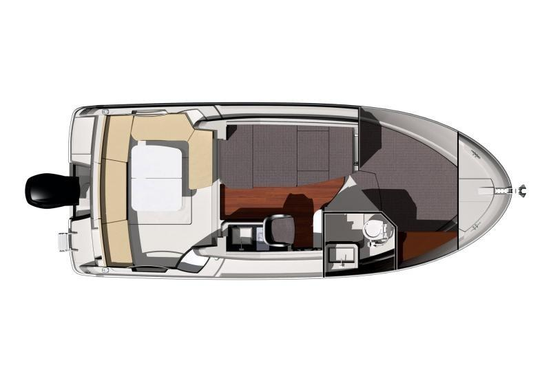 2014 Jeanneau Merry Fisher 755 Layout