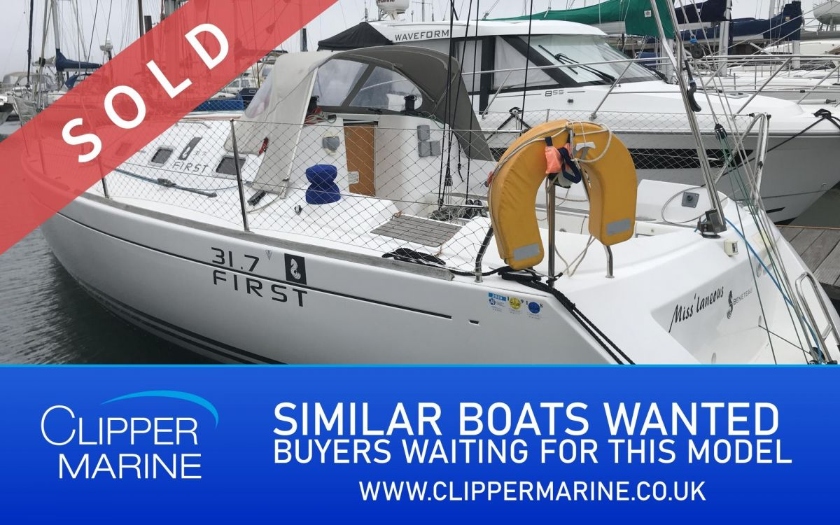 2009 Beneteau First 31.7 for sale in Gosport by Clipper Marine Spain