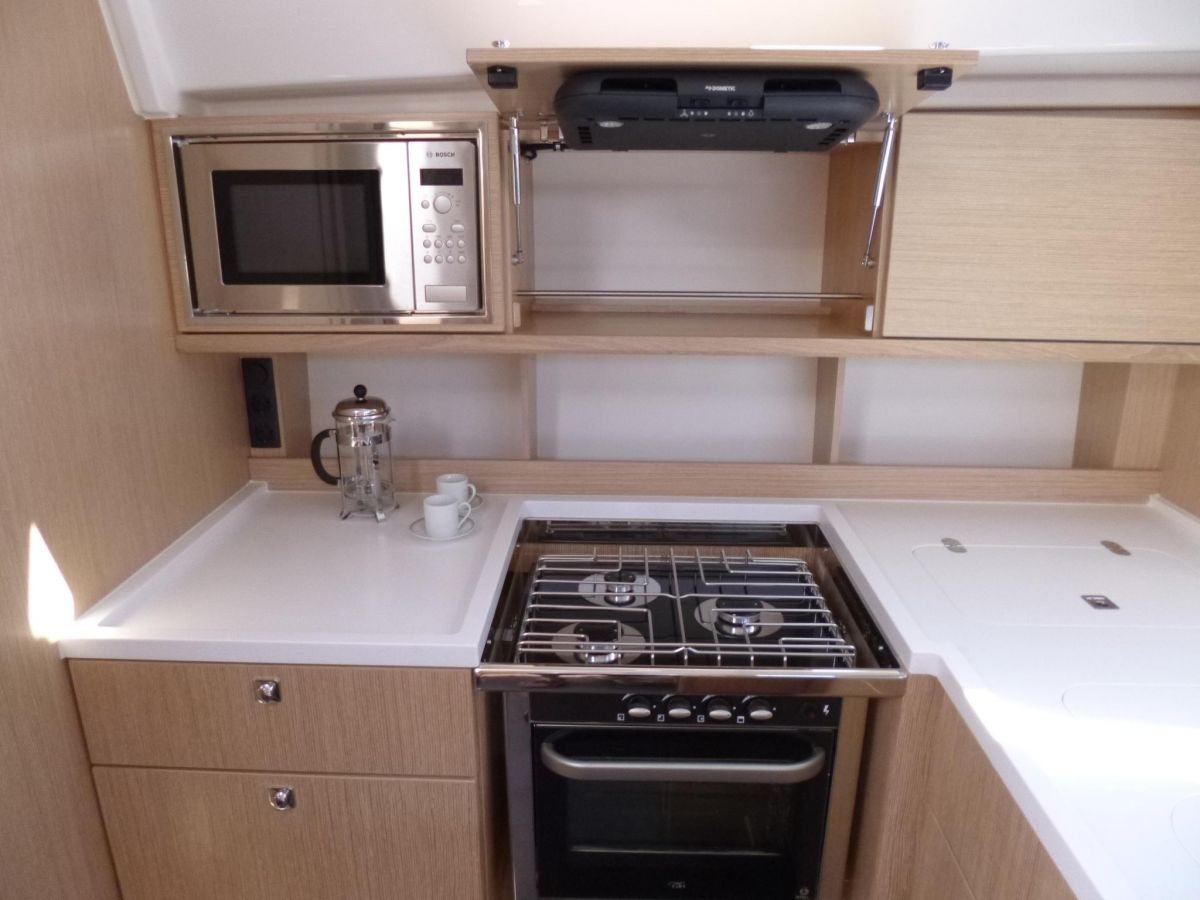 2021 Bavaria C50 Style Galley