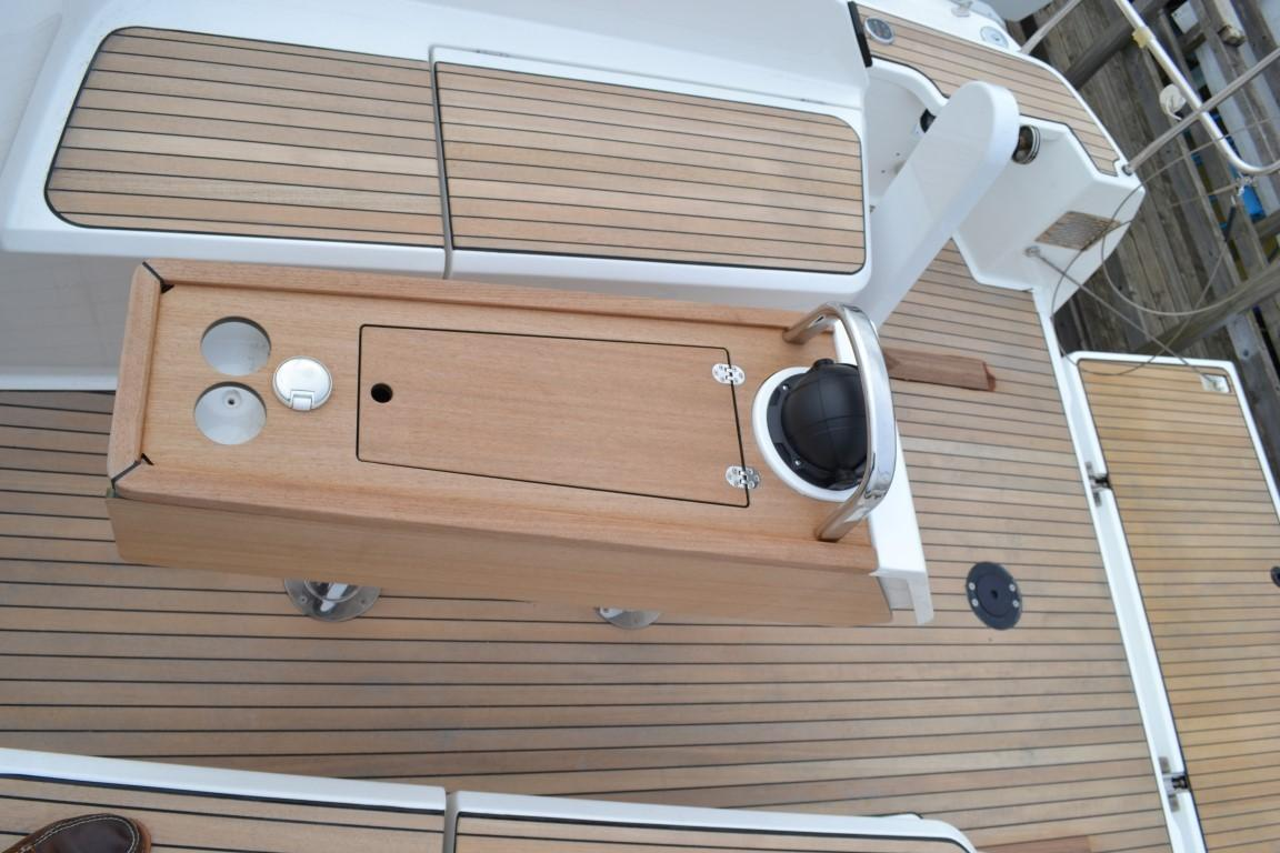 2019 Bavaria Cruiser 37 Bavaria Cruiser 37 Cockpit Table **Library Picture**