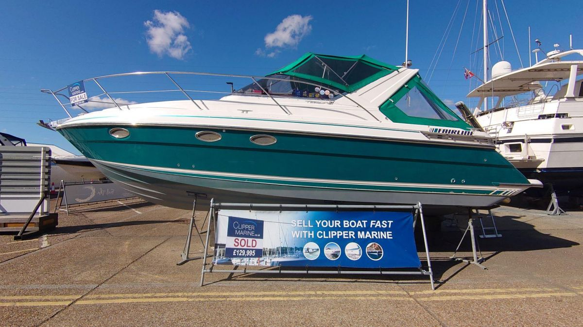 1996 Fairline Targa 31 for sale in Poole by Clipper Marine Spain