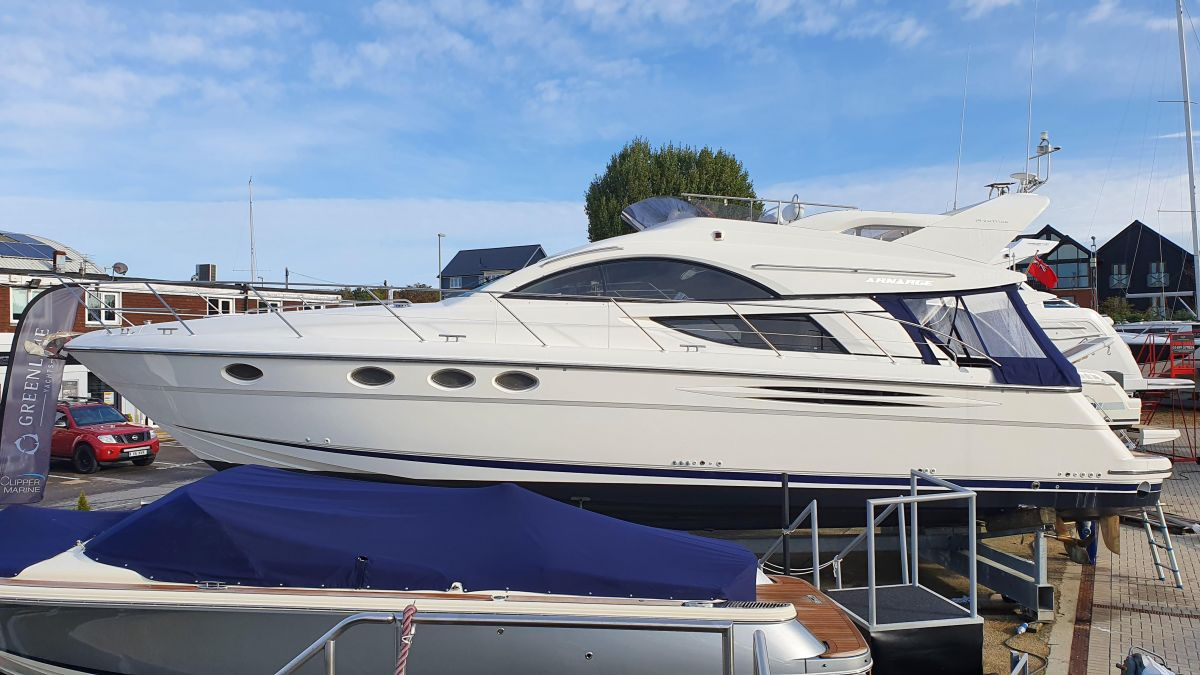 2004 Fairline Phantom 46 for sale in Swanwick by Clipper Marine Spain
