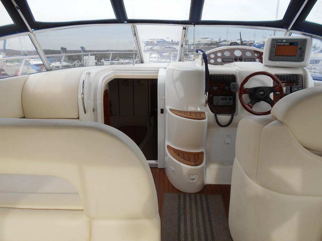 2002 Sessa Marine Oyster 40 Forward Cockpit