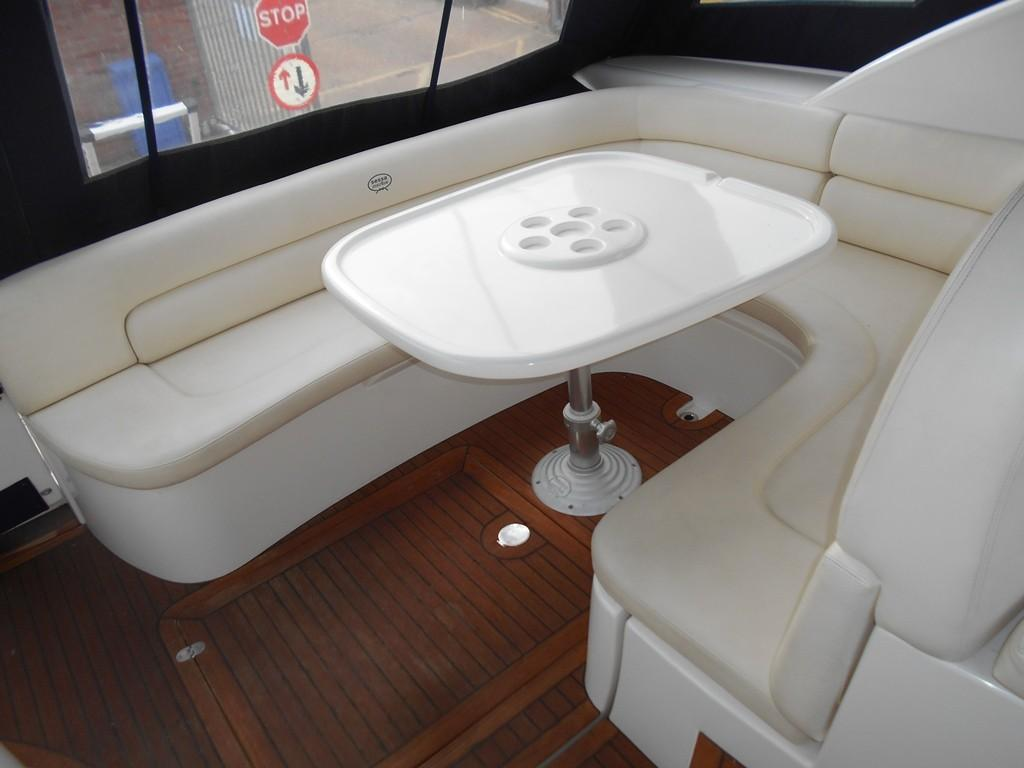 2002 Sessa Marine Oyster 40 Aft Seating Converts to Sun Pad