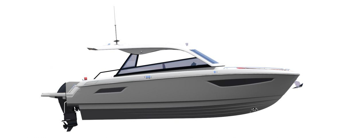 2021 Bavaria VIDA 33 HT Side View
