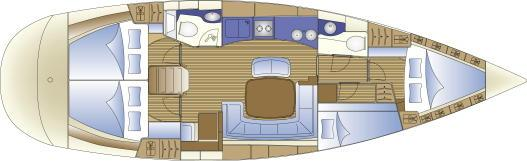 Manufacturer Provided Image: 4 Cabin Layout Plan