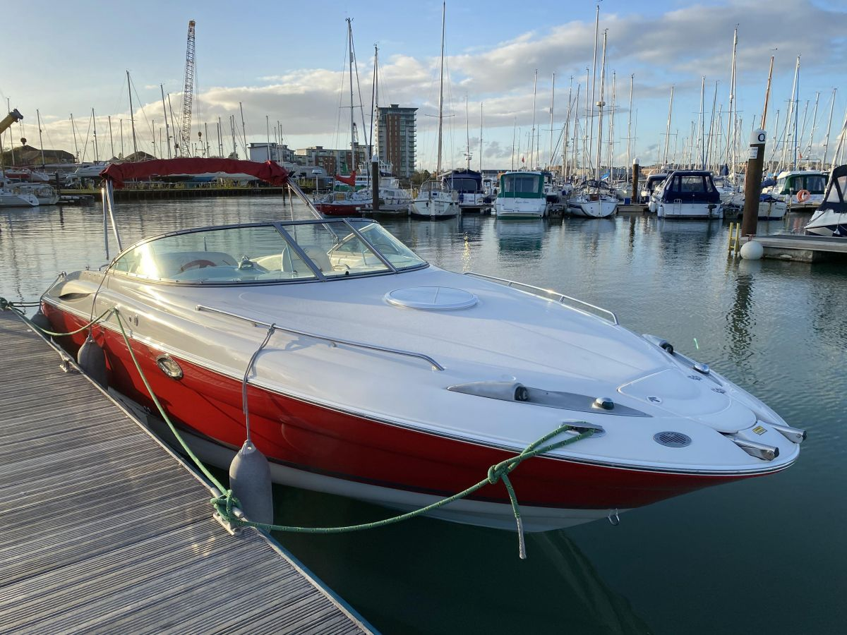 2004 Monterey 268 SC for sale in Gosport by Clipper Marine Spain