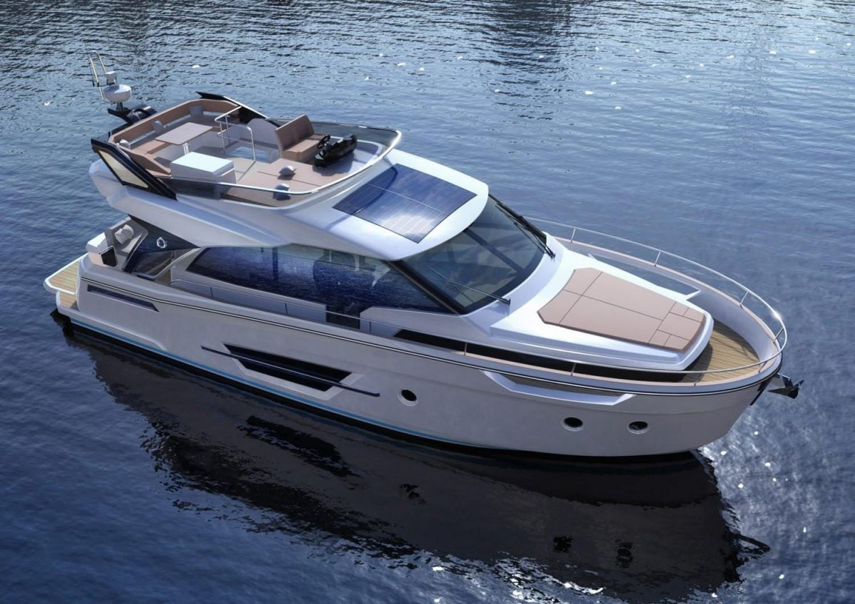 2021 Greenline 45 Fly Manufacturer Provided Image: Greenline 45 Fly