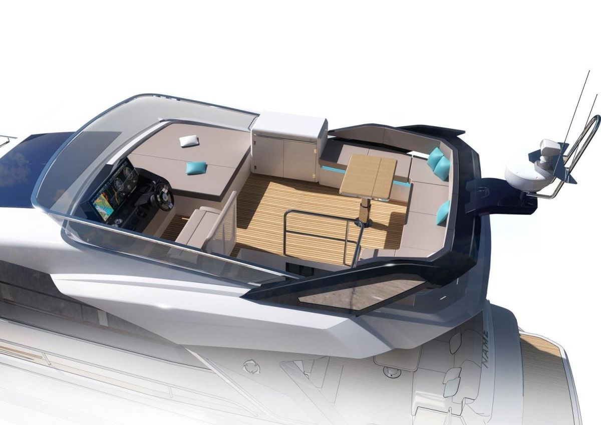 2021 Greenline 45 Fly Manufacturer Provided Image: Greenline 45 Fly Flybridge