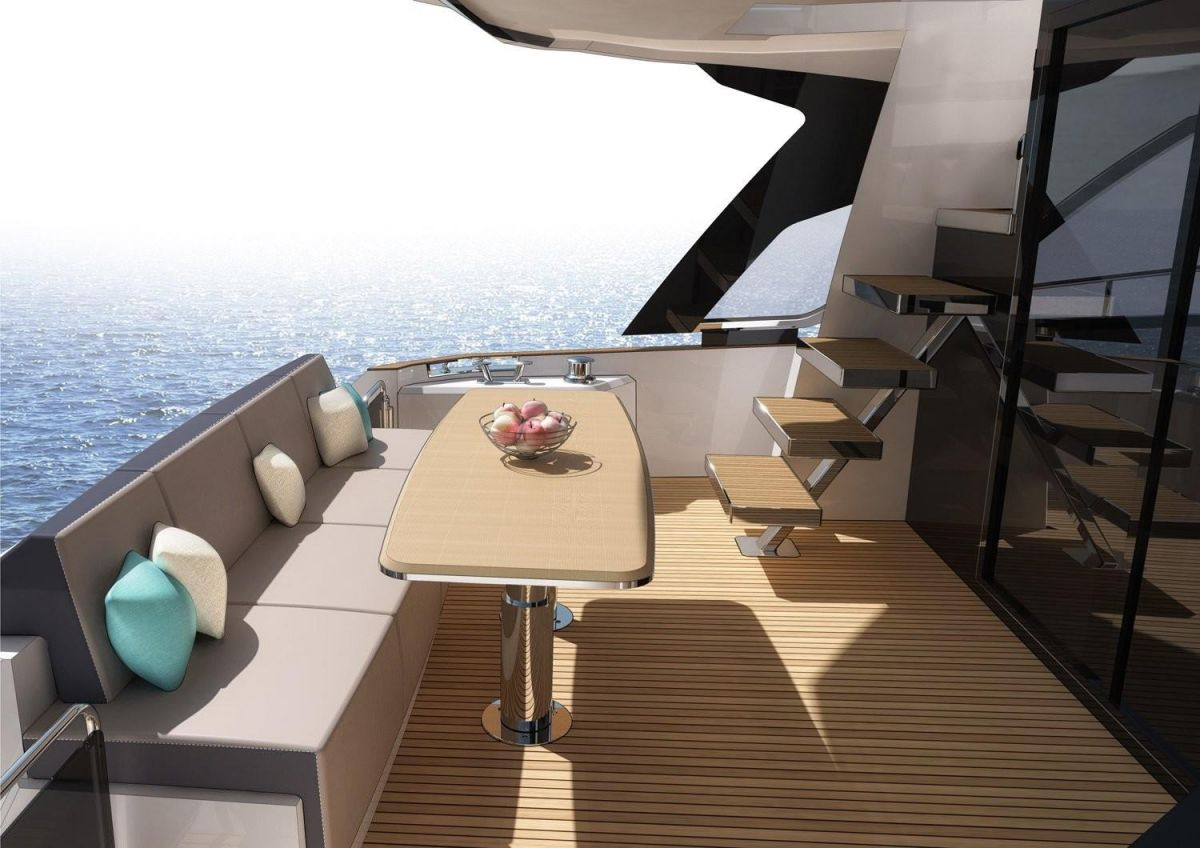 2021 Greenline 45 Fly Manufacturer Provided Image: Greenline 45 Fly Cockpit
