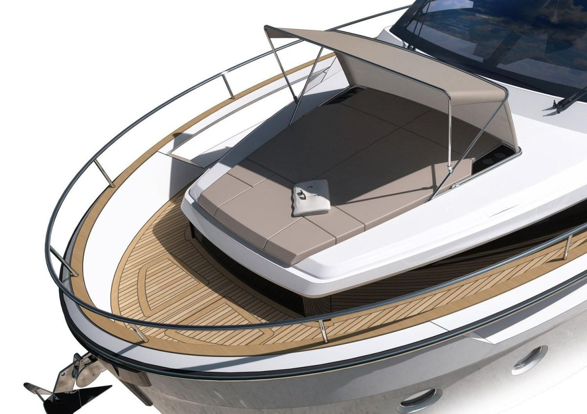 2021 Greenline 45 Fly Manufacturer Provided Image: Greenline 45 Fly Sunpad