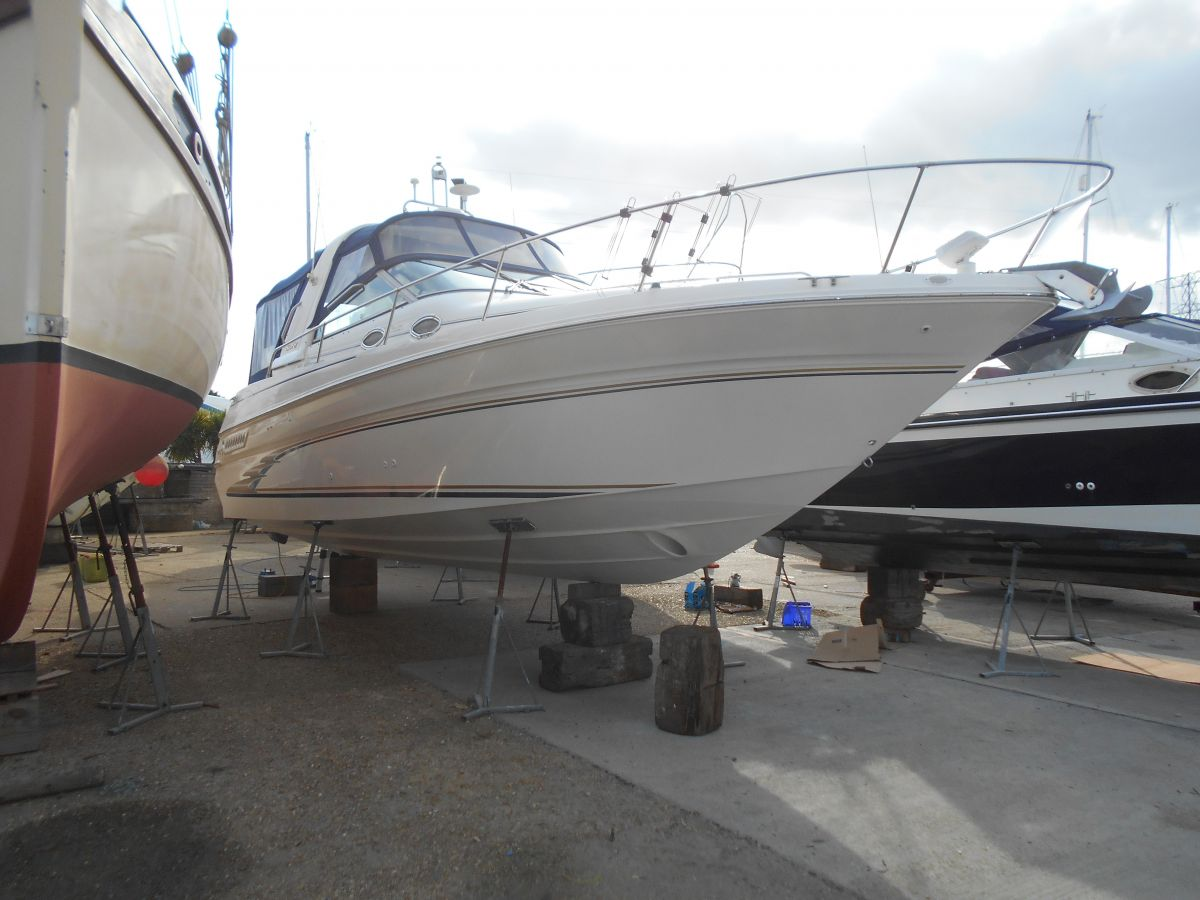 1998 Sea Ray 290 Sundancer for sale in Poole by Clipper Marine Spain
