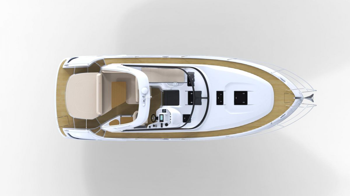 Bavaria Sport 34 - Deck layout