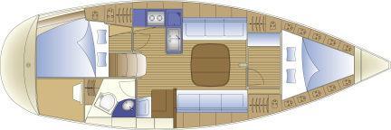 Zdjęcie dostarczone przez producenta: 2 Plan układu kabiny