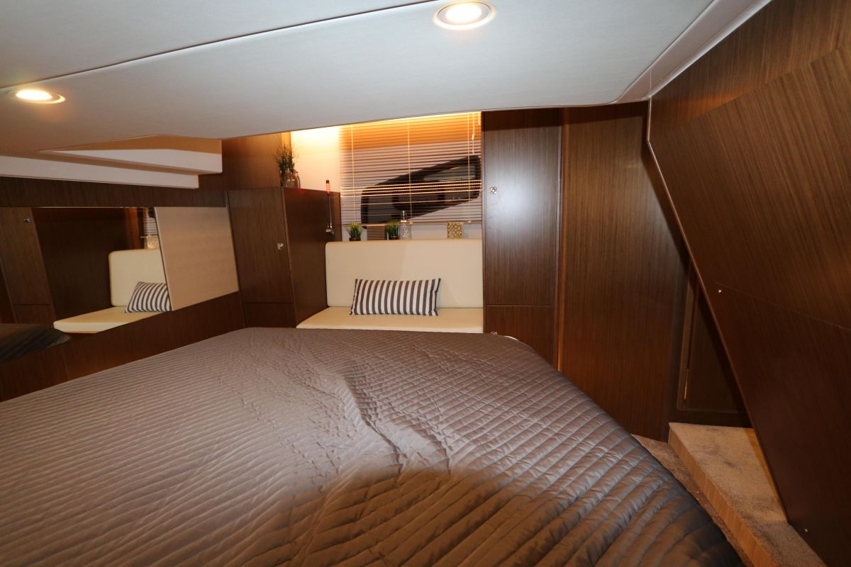 2021 Bavaria SR41 HT Guest Cabin  (Library photo)