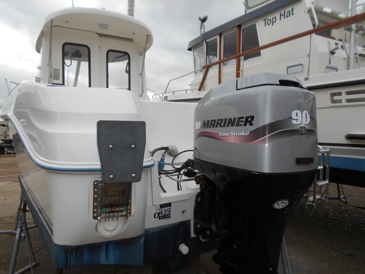 2005 Quicksilver 640 Pilothouse Engine