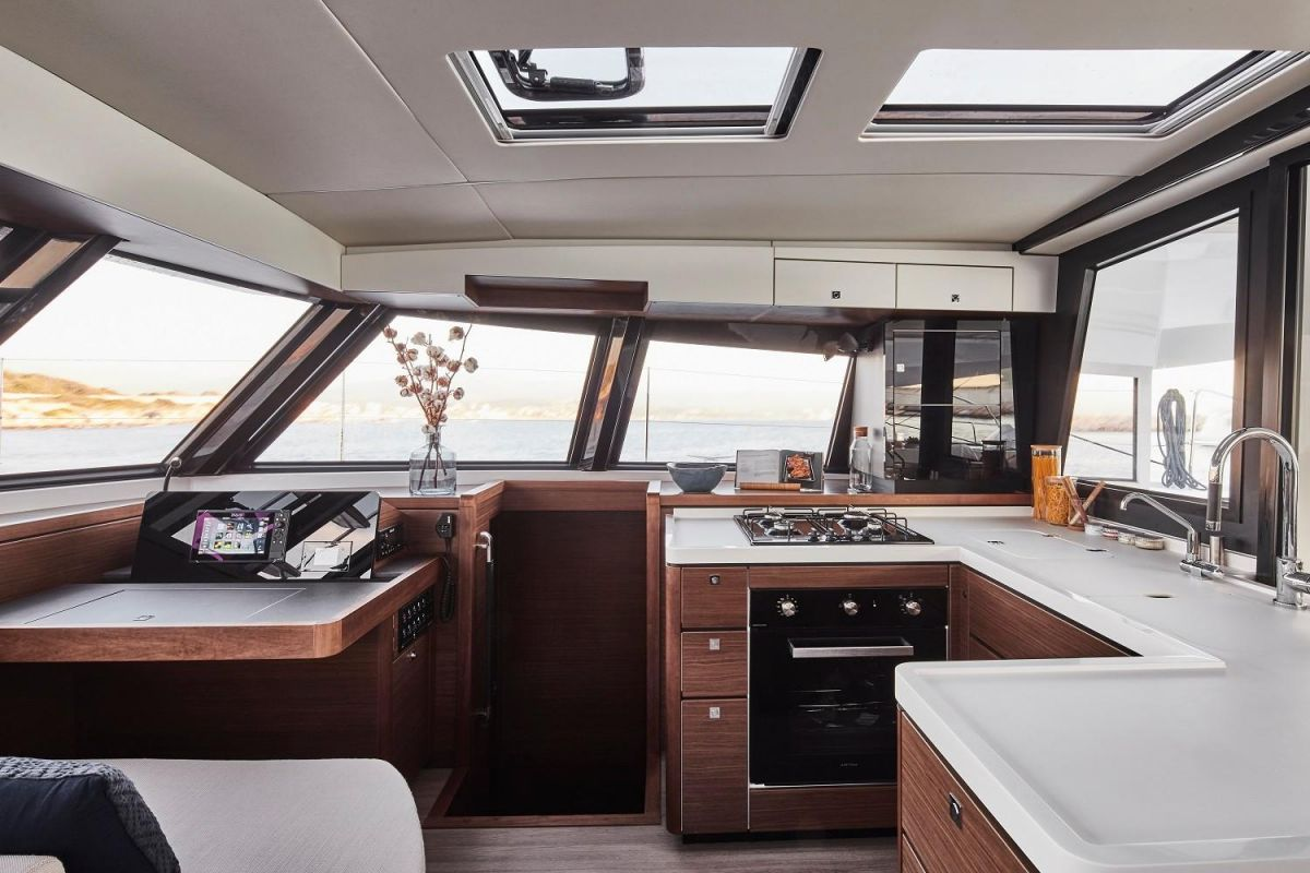 2020 Nautitech 46 Open Manufacturer Provided Image: Nautitech 46 Open Galley