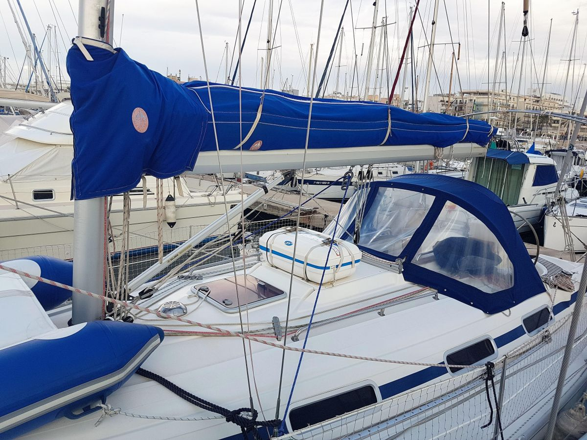 2002 Bavaria 36 Cruiser Said view -  Vista lateral - Seitenansicht