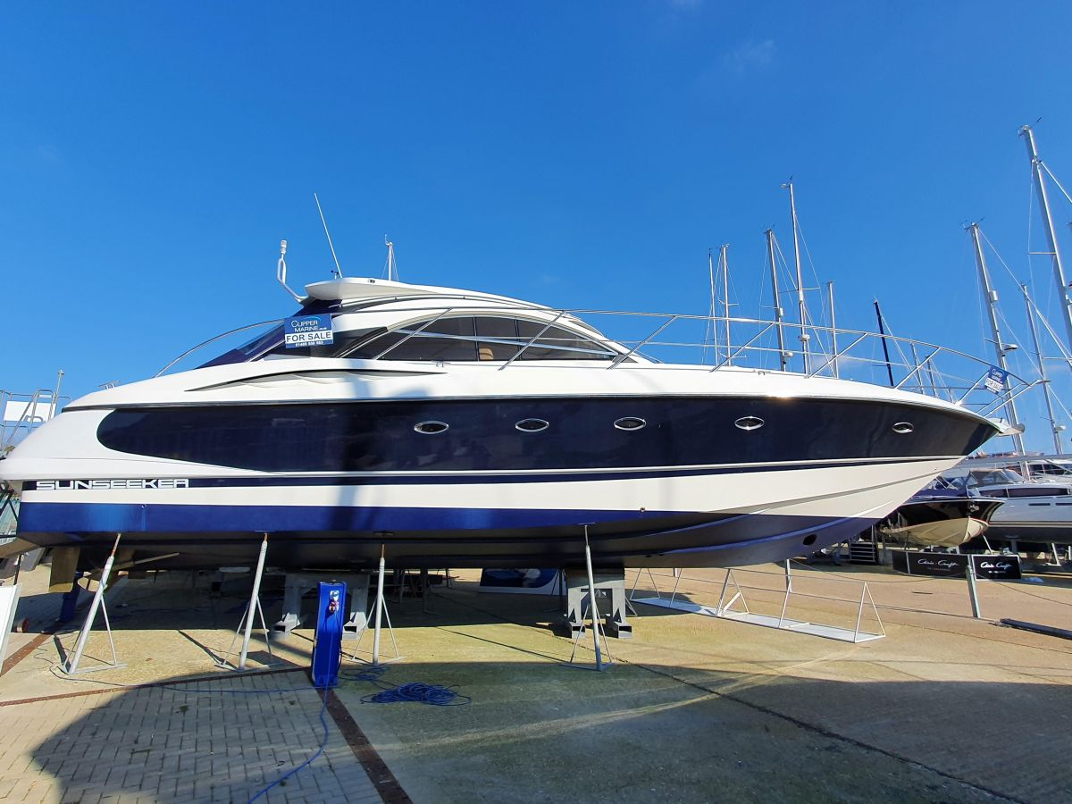 2002 Sunseeker Camargue 50 for sale in Swanwick by Clipper Marine Spain